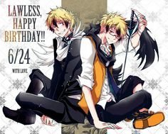 Tags : Servamp , Lawless , Hyde