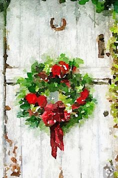 Christmas wreath waterlogue maybe it s not snowing where you are quite yet but you can create your own winter woodland with arteza watercolor premium artist paint art by rosies sketchbook Watercolor Christmas Cards, Watercolor Cards, Watercolor Flowers, Watercolor Paintings, Watercolors, Beach Watercolor, Simple Watercolor, Green Watercolor, Watercolor Ideas