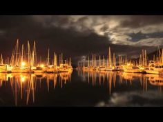 Beautiful timelapse video of Waikawa marina at night