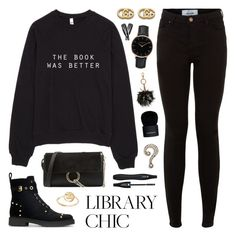 """Finals Season"" by lgb321 ❤ liked on Polyvore featuring Fendi, New Look, Topshop, Chloé, B Brian Atwood, Givenchy, Lancôme, Gucci, Bing Bang and Marc Jacobs"