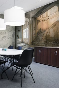 Want to redecorate your office and would like some inspiration? Check out our wide range of cool wall murals. Inspirational Wallpapers, Cool Walls, Interior Ideas, Wall Murals, Rum, Cases, Elegant, Architecture, Business