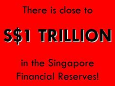 There is close to S$1 TRILLION in the Singapore Financial Reserves. But 'it is not in our national interest to publish the full size of our reserves...'. #singapore #cpf