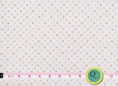 Designer Fabric By the Yard Cream Tonal Fabric by QuiltingGarden, $8.75