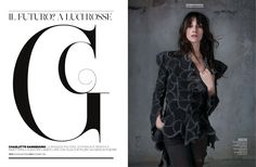 amica-2012-08 charlotte gainsbourg