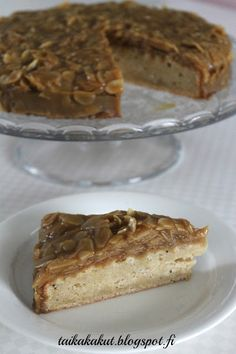Finnish Recipes, Baking Recipes, Sweet Tooth, French Toast, Cheesecake, Food And Drink, Sweets, Snacks, Cooking
