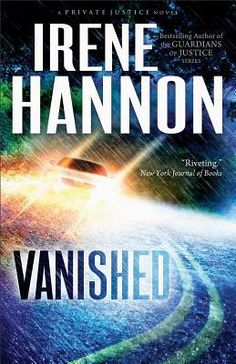 Vanished by Irene Hannon  http://theselftaughtcook.blogspot.com/2013/01/book-review-vanished-by-irene-hannon.html