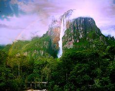 Angel Falls, Venezuela= Must see