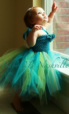 Baby Mermaid Fairy Tutu Dress