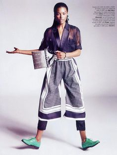 Sharam Diniz by Marcin Tyszka for Vogue Portugal May 2013