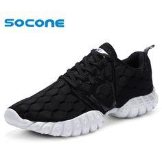 official photos 33e0b 3d90c 56.98  Aliexpress.com  Comprar 2016 SOCONE zapatos cómodos para correr,  súper ligero zapatillas de vestir hombres zapatos deportivos, zapatos de  gran tamaño ...