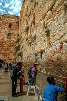 The Western Wall . Jerusalem