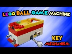 LEGO Ball Game Machine 'KEY Mechanism' 300 subs special! - YouTube