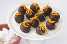 For a special gift, you can't beat heavenly Grand Marnier chocolate truffles.