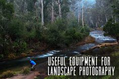 Useful Equipment for Landscape Photography via @wisie #phototips #photography