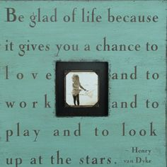 Quote--love the simplicity