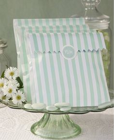 set of ten mint treat bags by hope and willow | notonthehighstreet.com