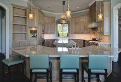 Donna's blog: ASID 2015 Holiday show house kitchen | Vining Design Associates, photography Miro Dvorscak