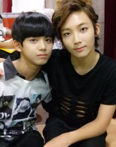 Donhjin and Junghan of Seventeen Soon to Debut #Seventeen #kpop #idols 17 member group