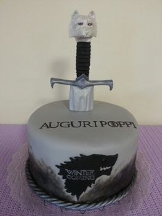 Game of throne cake birthday