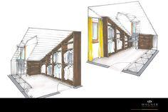 Ankleidezimmer Modern, Living Dining Rooms, Dressing Room, Neuschwanstein Castle, New Construction, Interior, Trendy Tree