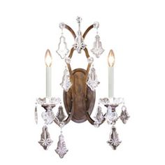 Colette Bronze Two-Light Wall Sconce