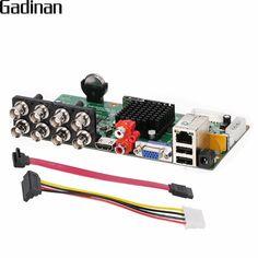 GADINAN Main Board 2MP 1080P AHD-H 8CH AHD DVR DIY Recorder Video Recorder 4*1080P(Analog)+4*1080P(IP) ONVIF XVR XMeye ONVIF P2P  Price: 76.00 & FREE Shipping  #tech|#electronics|#home|#gadgets Embedded Linux, Linux Operating System, Mac Software, Good Customer Service, Ip Camera, Display Screen, Maine, Free Shipping, Electronics Gadgets