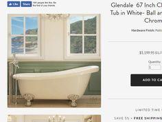 Glendale- Clawfoot Chrome — Pelham and White