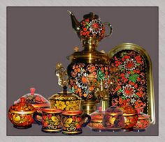 HOHLOMA-russian art.