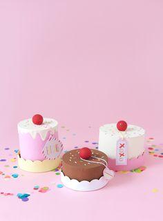 Easy DIY Paper Mache Cake Box                                                                                                                                                      More
