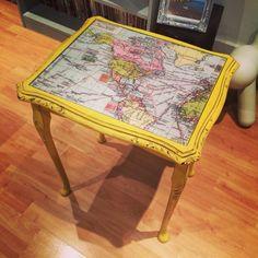 English yellow and dark wax Annie Sloan