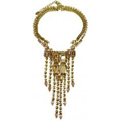 Yellow Gold Plated with Swarovski crystals Shop online  http://www.dazzlingjewellery.net/shop/product.php?id_product=1049