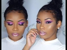Colorful Summer Glitter Eyes With AaliyahJay - http://urbangyal.com/colorful-summer-glitter-eyes-aaliyahjay/