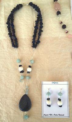 Cristina Crijoux: Ancora pietre naturali e argento 925...la Dumuorti...