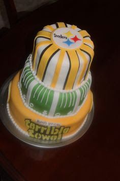 Steelers Cake Stillers Pinterest Cake Pittsburgh steelers and