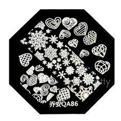 Cute Snow Heart Pattern QA86