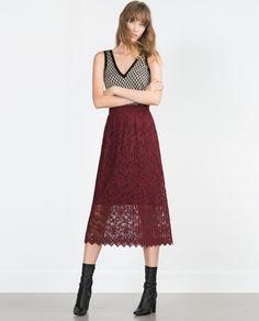 MIDI SKIRT - View all - Skirts - WOMAN | ZARA Georgia