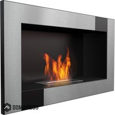 Gilbert Brushed wall mounted or built in bio ethanol fireplace for liquid bio ethanol fuel Wall Mounted Fireplace, Build A Fireplace, Wall Mount Electric Fireplace, Modern Fireplace, Dallas, Georgia, Bio Ethanol, Fireplaces For Sale, Bioethanol Fireplace