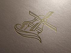 Ryan Breault - Shave Mill Logo Mockup