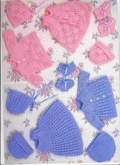 Crochet Baby Mittens Newborns Yarns 17 New Ideas Knitting Dolls Clothes, Baby Doll Clothes, Crochet Baby Clothes, Knitted Dolls, Doll Clothes Patterns, Doll Patterns, Baby Dolls, Knitting Needle Sets, Baby Knitting Patterns