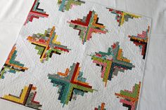 I love this pattern, it looks so cool.  I also really like the fabric choices as well.  This is another quilt for the someday I'm gonna make that one list.