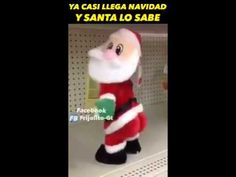 SANTA CLAUS MENIANDO LA CHAPA Happy Day, Animals Beautiful, Elf, Holiday Decor, Youtube, Saints, Christmas Humor, Christmas Houses, Sheet Metal