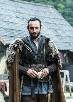Athelstan - the cape with fur is what we're thinking