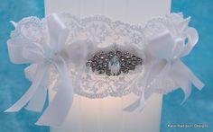 Wedding Garter, Wedding, Garter, Bridal Garter,Stunning Wedding Garter,Lace Wedding Garter,Rhinestone Garter, Diamante Garter