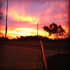 Morning practice did have some benefits I guess.