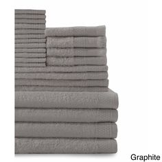Cotton 24-piece Towel Set with Fingertip Towels | Overstock™ Shopping - Top Rated Bath Towels