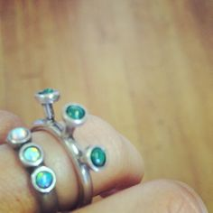 #malachite Light Tower ring now available on www.the2bandits.com #the2bandits #northernlights