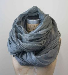 Grey Cotton Scarf : Love it