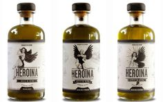 Packaging de aceite Heroina