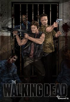 Walking Dead: The Prison by Ted Hammond on ted1air.deviantart.com  #TheWalkingDead