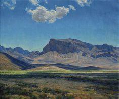 Desert Apparitions by Mark Haworth Oil ~ 20 x 24